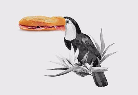 Los collages de Diego Cusano son geniales. Ypunto.