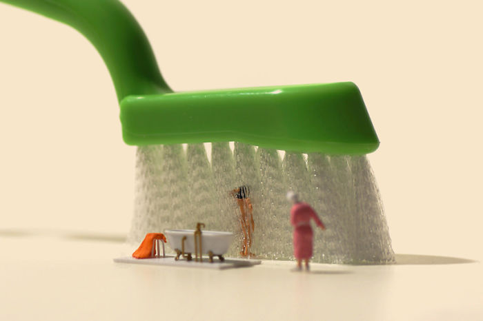 No hay, en el mundo, composiciones con miniaturas como las de@tanaka_tatsuya