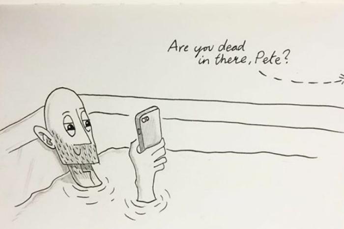 ¿Un cómic cada día? Kellie & Pete son lomás…