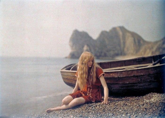 La #fotografía en color (de hace un siglo) esflipante…