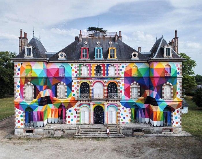 El arte urbano no es ensuciar las paredes y, para muestra, uncastillo