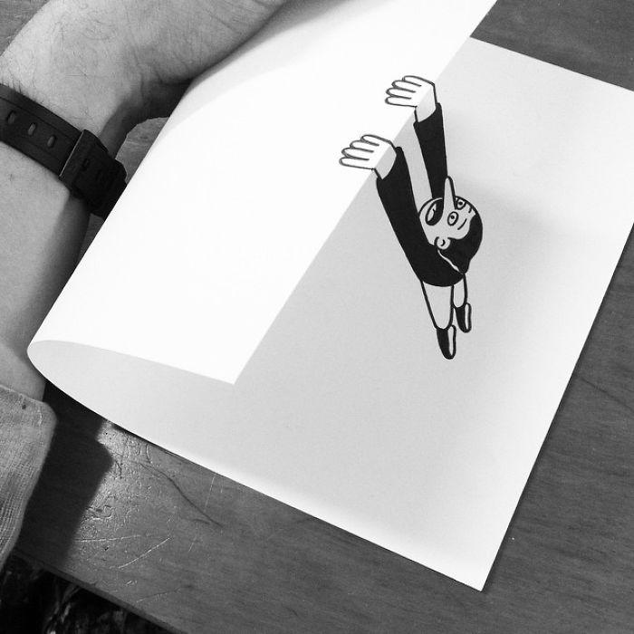¿Qué pasa cuando el papel es algo más que unlienzo?