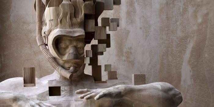 La cultura del píxel, llevada a lamadera…
