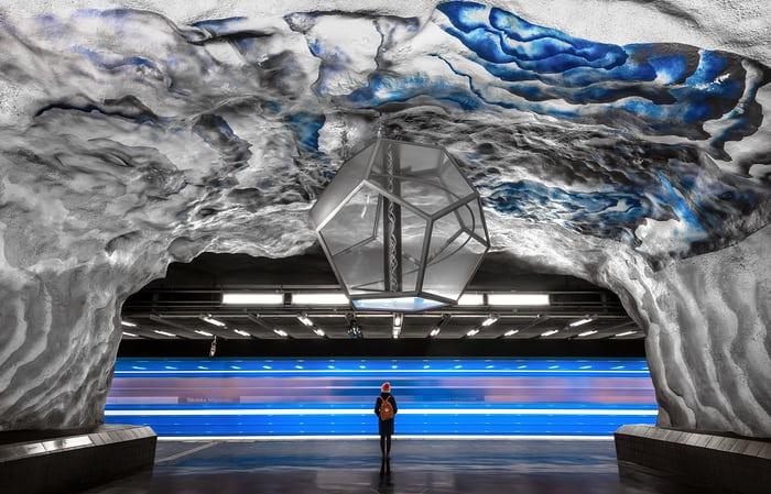 La galería de arte más larga del mundo. Y otras historias de creatividad ycolor…