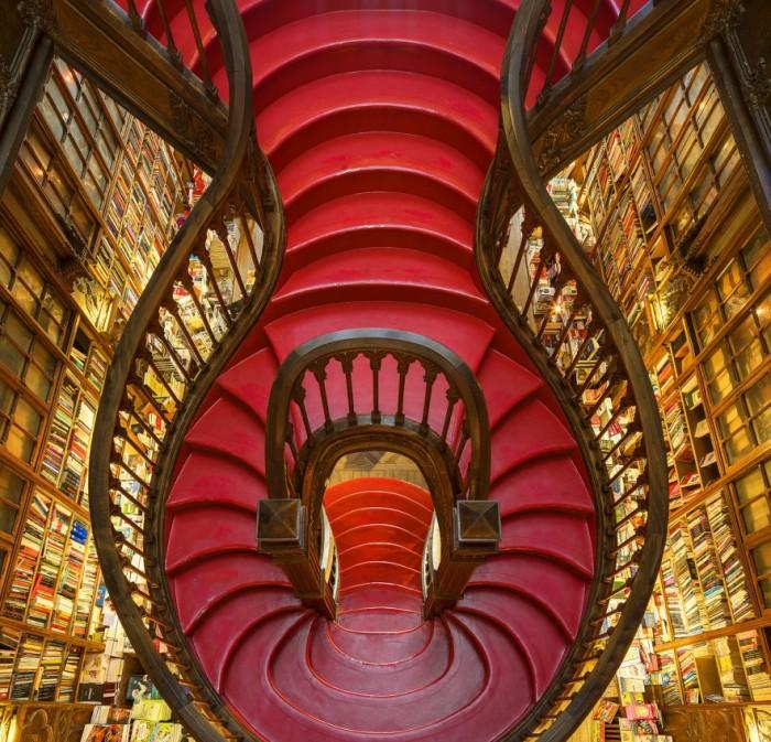 Estas bibliotecas parecen sacadas de unanovela