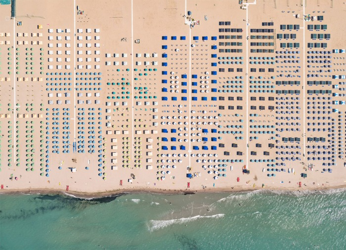 La Toscana. Playas. Fotografía aérea… no sé si existe mejorcombinación