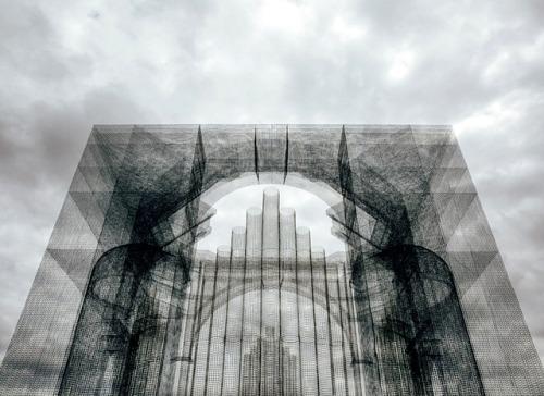 Esculturas transparentes. Esto es otronivel…