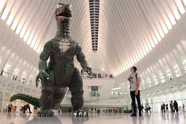 Un Godzilla gigante y tú. Sí, puede ser una historia deamor…