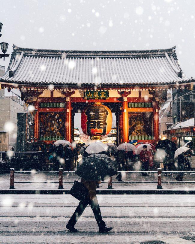 Ojo a esta combinación ganadora: Tokyo + fotografía + nieve (por untubo)