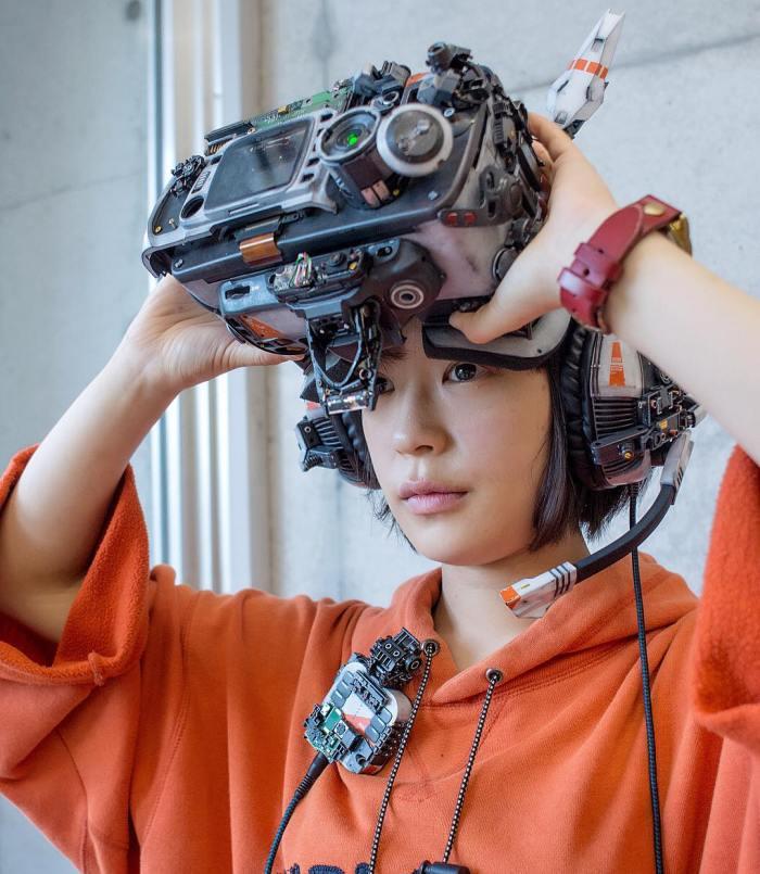 Hiroto Ikeuchi, del #Cyberpunk al #Cosplay pasando por un poco de #DIY. ¿Te ha quedadoclaro?
