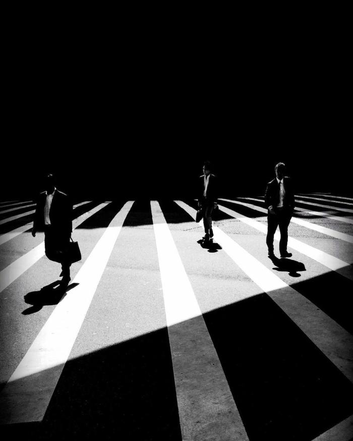 Blanco. Negro. Arquitectura. Geometría. Poesía. Fotografía.Oh…