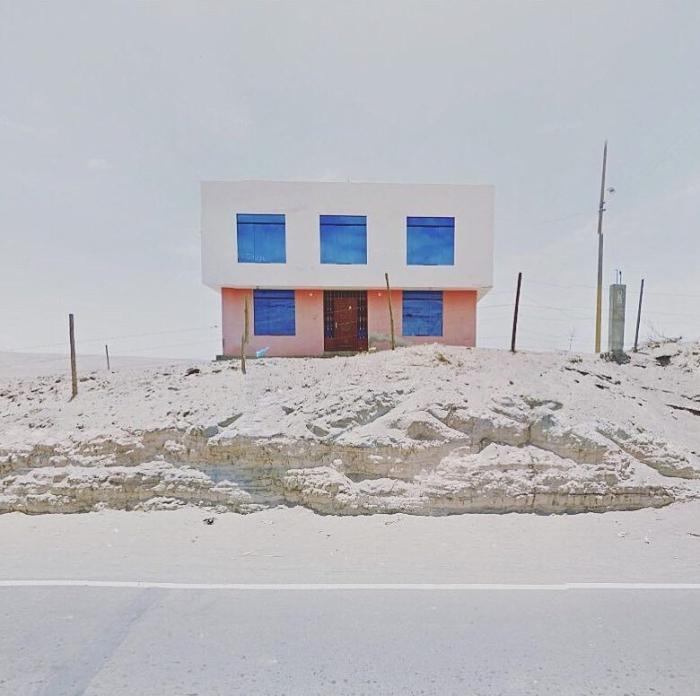 Fliparás con la 'colección de arte de Google Street View'. Y no es ningunabroma…