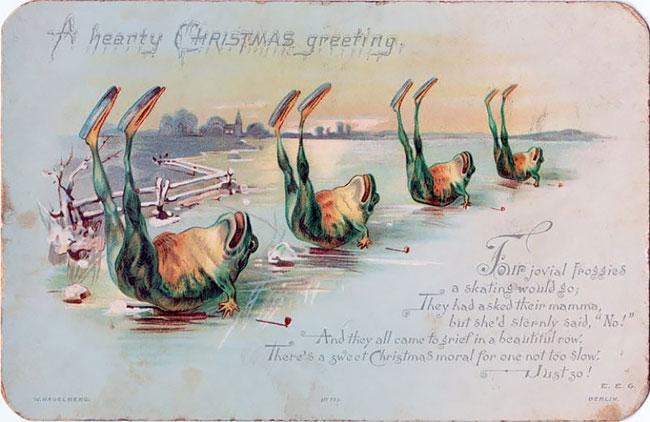 Ponle un punto victoriano a tu navidad para hacerla más, no sé,original…