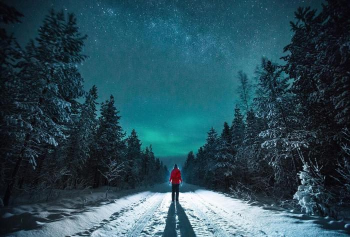 Si el invierno, aquí, está llegando, allí ni tecuento…