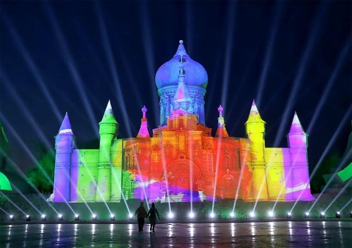 Un cuento (chino) de hielo, luz ycolor…