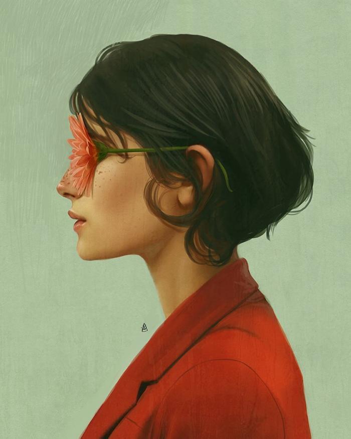 Surrealismo ilustrado para que pienses qué quieres ser. Ono…