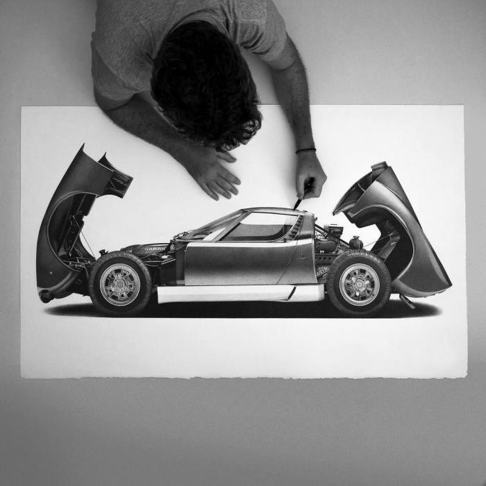 Arte y motor, una combinación apasionante…