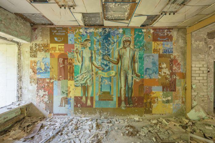 Si piensas en Chernobyl, hoy, piensasen…